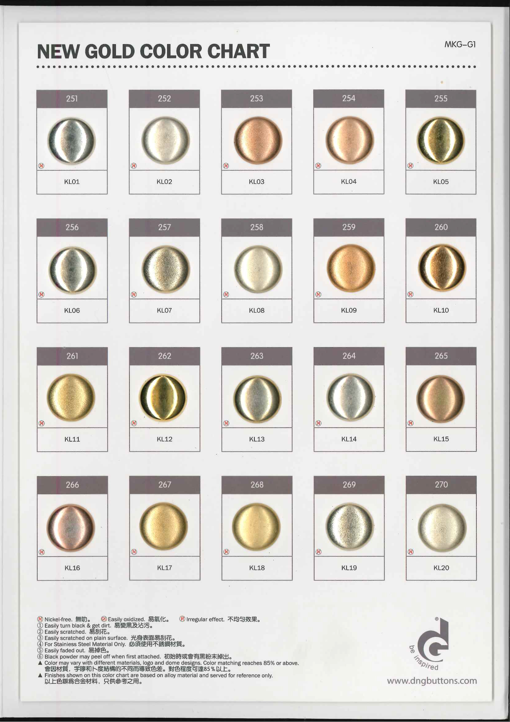 New-Gold-Color-Chart